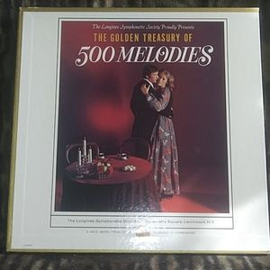 the golden treasury of 500 melodies